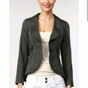 Cabi Victorian Two-Button Work It Jacket